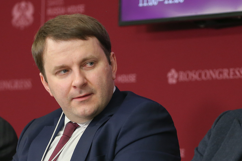 Maxim Oreshkin to Discuss Promising Trends of the Russian Economy at Russia House in Davos